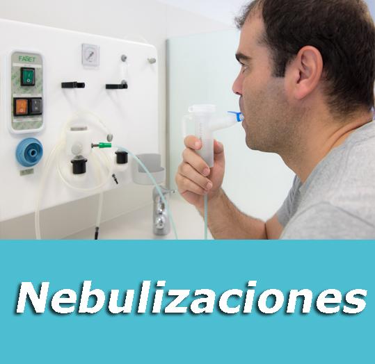 nebulizaciones tratamientos clinica respiratoria respira mejor en barcelona